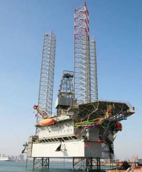 Offshoe-Rig in Offshore Jack-up Rigs / Drill Ships
